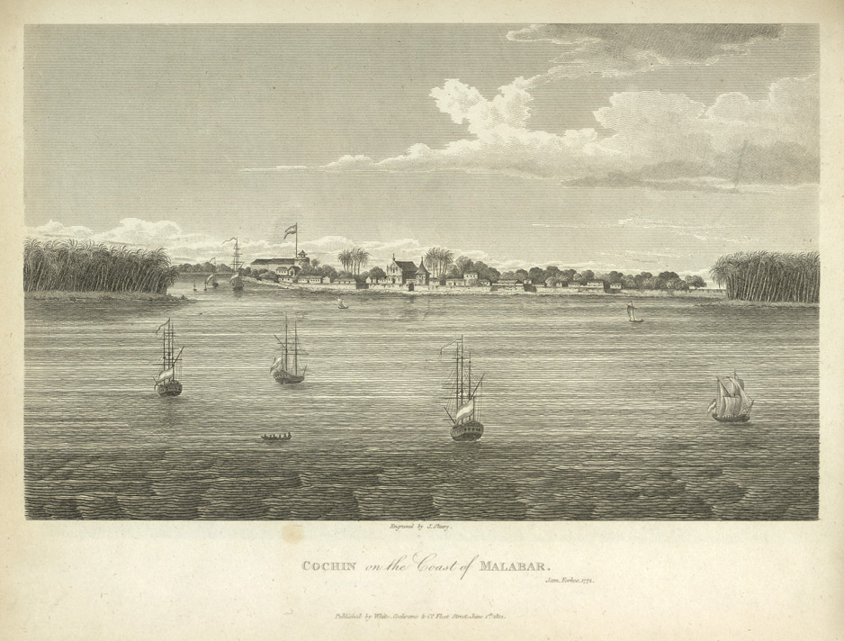 Cochin, on the coast of Malabar